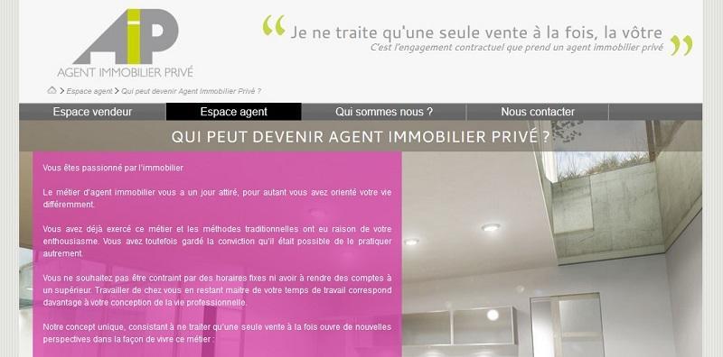 Agent Immobilier Privé