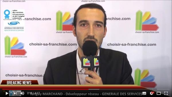 Interview de la franchise Générale des Services au Salon des Services à la Personne