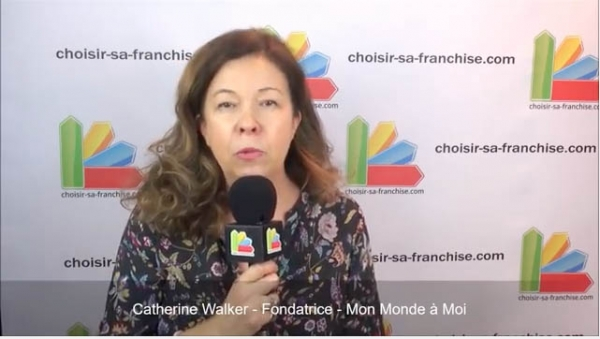 Interview de Catherine Walker, Fondatrice de la franchise Mon Monde à Moi au salon Franchise Expo Paris 2017
