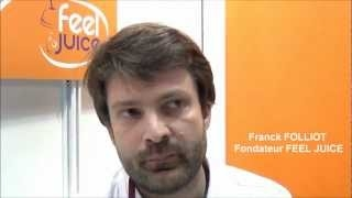 Vidéo franchise Feel Juice   Interview Franck Folliot