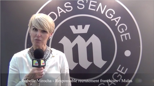 Interview d'Isabelle Mirocha - Responsable recrutement franchisés de la franchise Midas