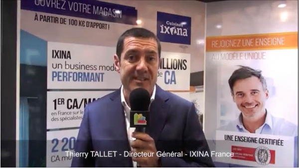 Interview de Thierry TALLET, Directeur Général de la franchise Ixina au salon Franchise Expo Paris 2017