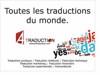 Franchise A4 Traduction