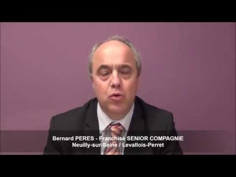 Interview de Bernard Peres - Franchise Senior Compagnie à Neuilly et Levallois