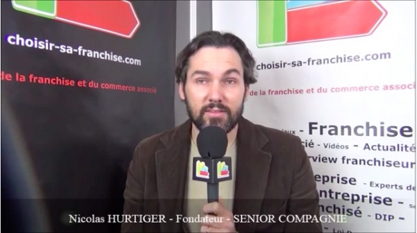 Interview de Nicolas HURTIGER - Fondateur de la franchise SENIOR COMPAGNIE
