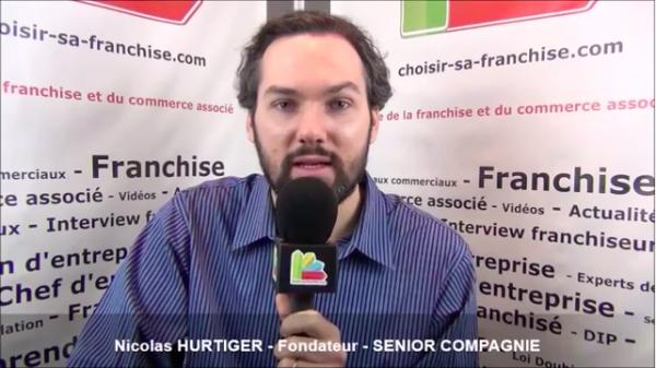 Interview de Nicolas HURTIGER - Fondateur de la franchise SENIOR COMPAGNIE