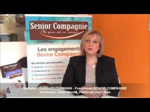 Interview Nathalie Cohen - Franchisée Sénior compagnie à Vincennes (94)