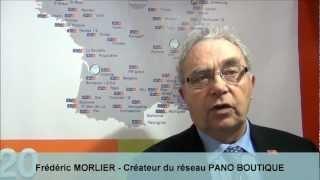Vidéo franchise Pano Boutique | Interview Frédéric Morlier