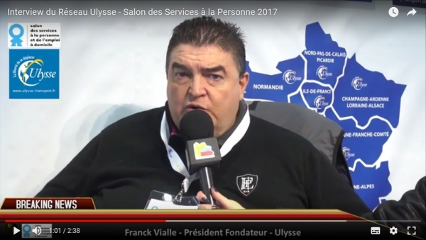 Interview de la franchise Ulysse au Salon des Services à la Personne