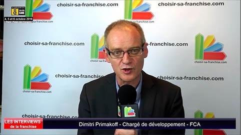 Interview de Dimitri Primakoff, chargé de développement de la franchise FCA au salon SME Paris 2016