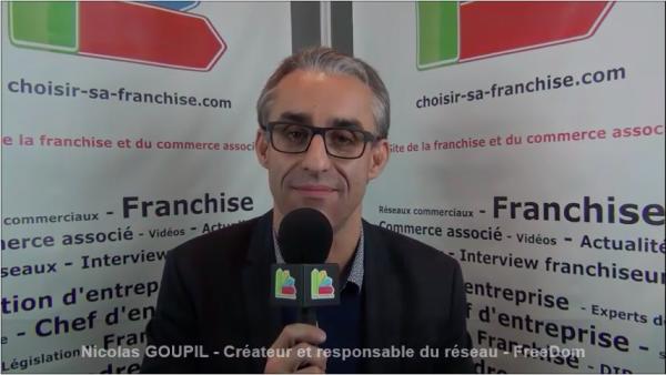 Interview de Nicolas GOUPIL - Créateur et responsable du réseau de franchise FREEDOM