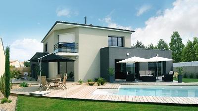 franchise habitat plus constructeur maison contemporaine. Black Bedroom Furniture Sets. Home Design Ideas
