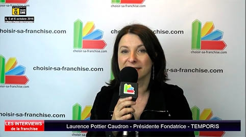 Interview de Laurence Pottier Caudron, Présidente Fondatrice de la franchise Temporis au salon SME Paris 2016