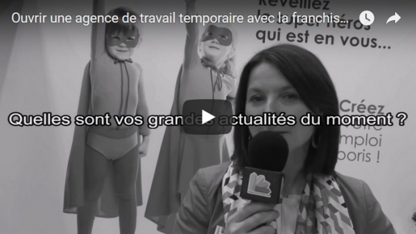 Interview de Laurence Pottier Caudron, Présidente Fondatrice de la franchise Temporis au salon Franchise Expo Paris 2017
