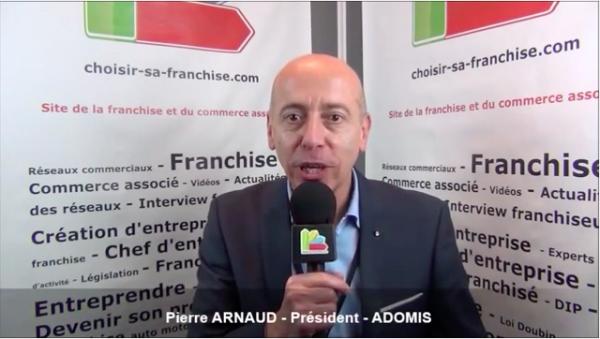 Interview de Pierre ARNAUD - Président de la franchise ADOMIS SERVICES