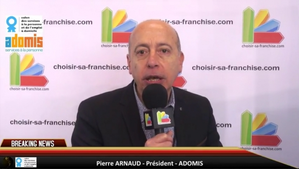 Interview de la franchise Adomis au Salon des Services à la Personne