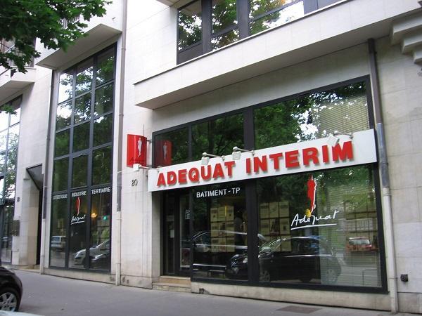 Franchise adequat int rim travail temporaire et for Agence interim paysagiste geneve