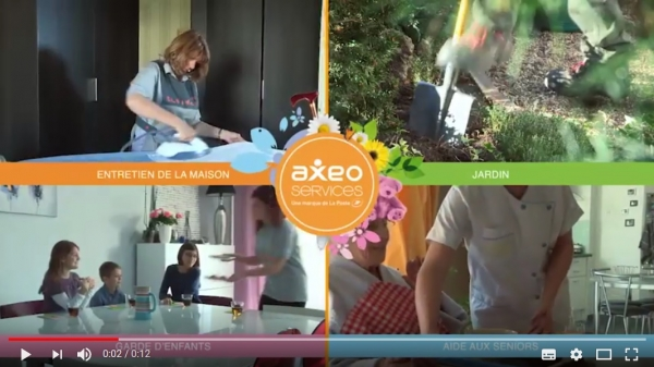 Spot TV pour la franchise AXEO Services - Groupe La Poste