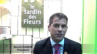 Benoît GANEM présente la franchise Le jardin des fleurs