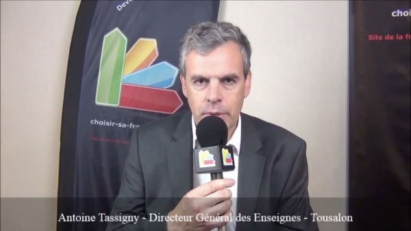 Interview d'Antoine Tassigny - Directeur Général des Enseignes de la franchise Tousalon