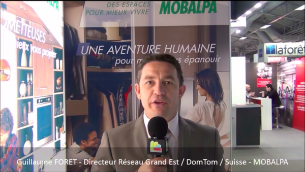 Interview de Guillaume FORET, Directeur du réseau de franchise Mobalpa Grand Est au salon Franchise Expo Paris 2016