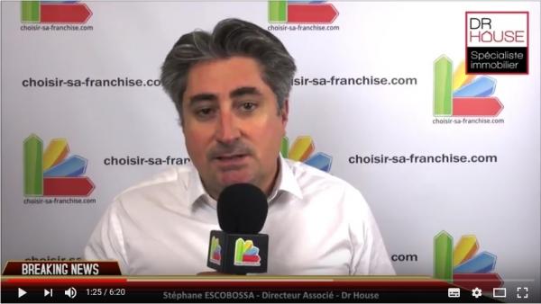 Franchise Dr House Immo - Interview de Stéphane ESCOBOSSA au Salon SME 2017