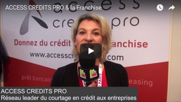 Access crédits pro nous parle de la franchise au salon Franchise Expo Paris 2017