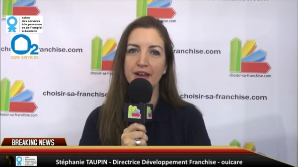 Interview de la franchise O2 care services au Salon des Services à la Personne