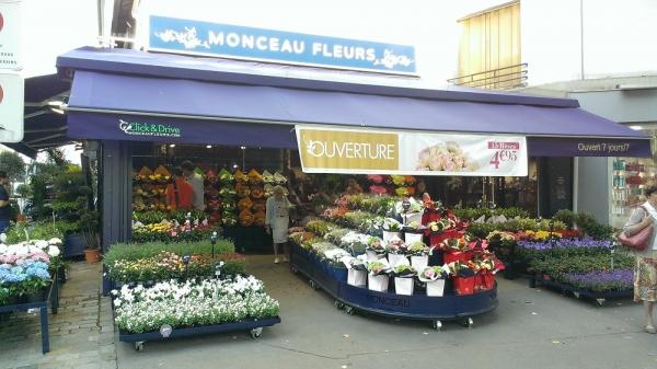 Franchise Monceau Fleurs, Marché Floral Depuis 1965 | Choisir Sa Franchise