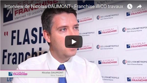 Interview de Nicolas DAUMONT - Franchise illiCO travaux