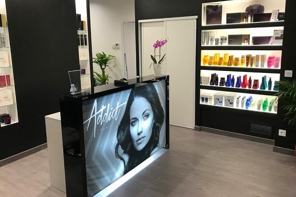 franchise addict paris coiffure la coiffure par. Black Bedroom Furniture Sets. Home Design Ideas