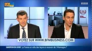 BFM Academie 2013 - Choisir Sa Franchise sur BFM Business avec Cédric Chevauché