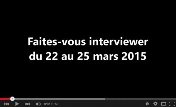 Faites-vous interviewer du 22 au 25 mars 2015 par Choisir Sa Franchise