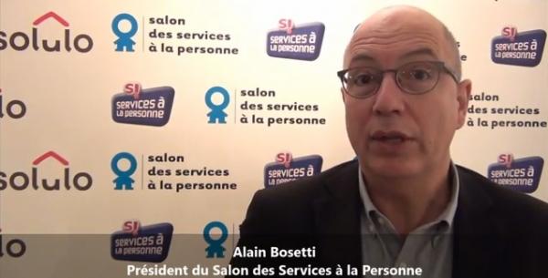 Interview d'Alain Bosetti à Paris Porte de Versailles