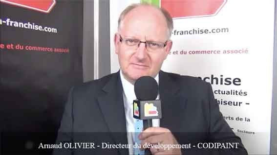 Interview d'Arnaud OLIVIER - Directeur du développement de la franchise CODIPAINT