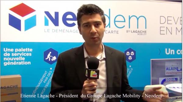 Interview d'Etienne Lagache - Président du Groupe Lagache Mobility de la franchise Neodem