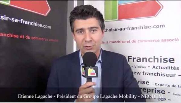 Interview d'Etienne LAGACHE - Président Fondateur de la franchise NEODEM
