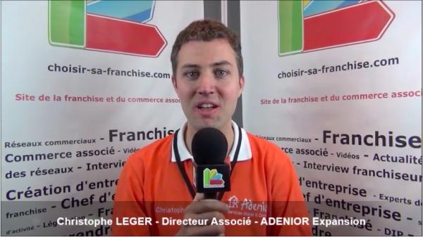Interview de Christophe LEGER - Directeur associé de la franchise ADENIOR