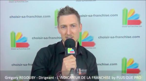 Interview de Grégory REGOUBY, Directeur de l'Indicateur de la Franchise au salon Franchise Expo Paris 2016