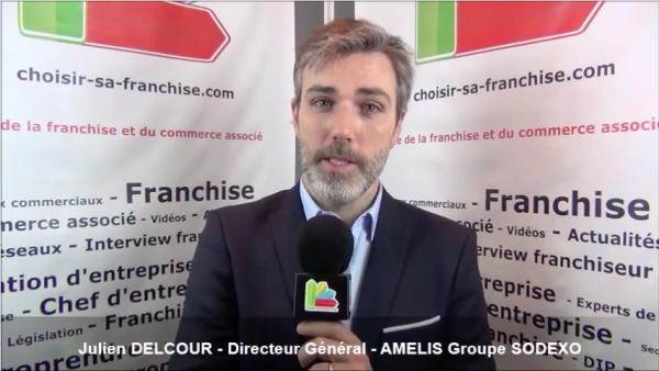 Interview de Julien DELCOUR -  Directeur Général de la franchise AMELIS Groupe Sodexo