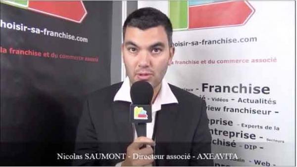 Interview de Nicolas SAUMONT - Directeur associé de la franchise AXEAVITA