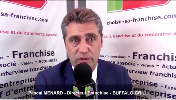 Interview de Pascal Ménard - Directeur de la franchise Buffalo Grill