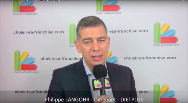 Interview de Philippe LANGOHR, Dirigeant du réseau de franchise Dietplus au salon Franchise Expo Paris 2016