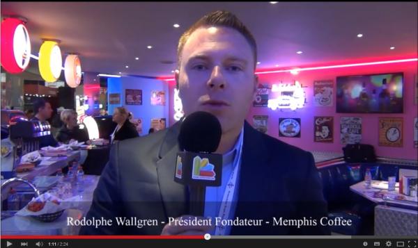Interview de Rodolphe Wallgren - Président Fondateur de la franchise Memphis Coffee