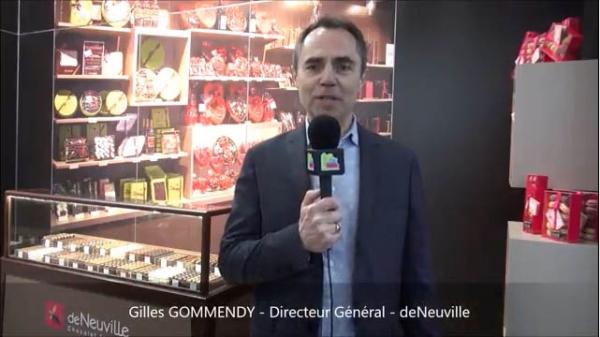 Interview de Gilles GOMMENDY, Directeur Général de la franchise deNeuville au salon Franchise Expo Paris 2017