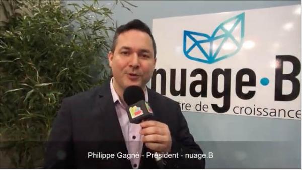 Interview de Philippe Gagné, Président de la franchise nuage.B au salon Franchise Expo Paris 2017