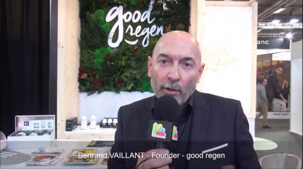 Interview de Bertrand Vaillant, fondateur de la franchise good regen au salon Franchise Expo Paris 2017