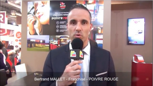 Interview de Bertrand MALLET, Franchisé de la franchise Poivre Rouge au salon Franchise Expo Paris 2017