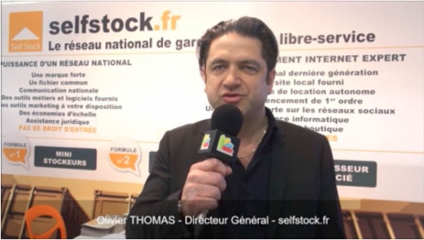Interview d'Olivier THOMAS, Directeur Général de la franchise selfstock.fr au salon Franchise Expo Paris 2017