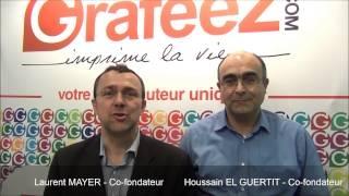 Laurent MAYER et Houssain EL GUERTIT présentent la franchise GRAFEEZ